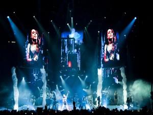 Un gran concierto de Miley Cyrus