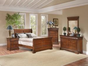 Postal: Un elegante dormitorio