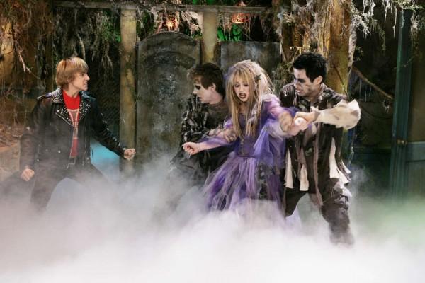 Escena zombie de Hannah Montana