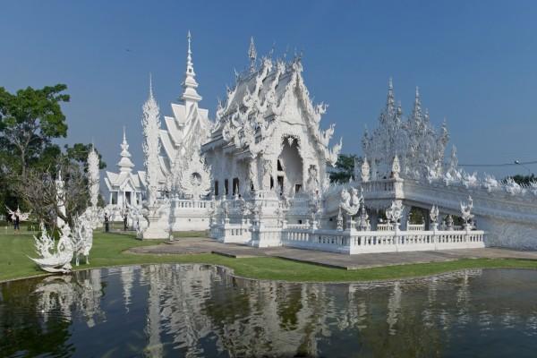 El templo tailandes Wat Rong Khun