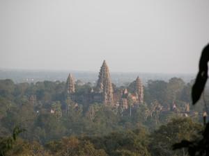 Vistas de templo Angkor Wat
