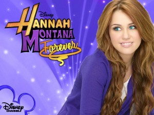 Postal: Miley Cyrus en Hannah Montana