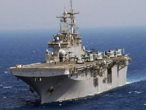 Postal: Buque USS Wasp