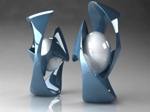 Postal: Esculturas digitales
