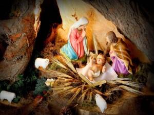 Nacimiento del Niño Jesús en Navidad
