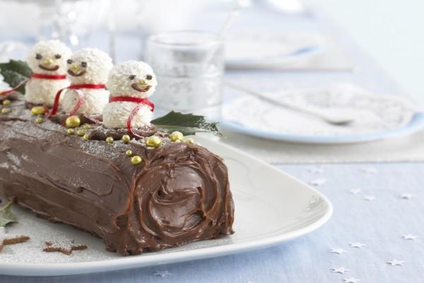 Delicioso pastel para festejar la Navidad