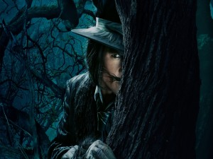 "Johnny Depp en la película ""Into the Woods"""
