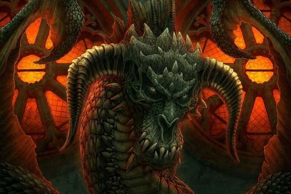 Dragón enojado