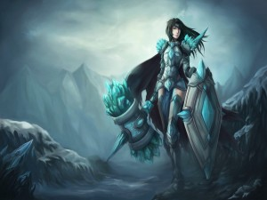 League of Legends (Taric Femenina)
