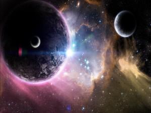 Planetas en el universo