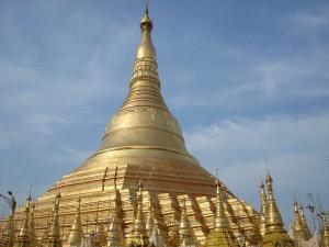 Postal: Estupa del templo Shwedagon