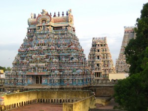 Postal: Templo Sri Ranganathaswamy (Tiruchirapalli, India)