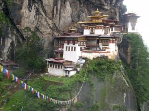 Postal: El templo Taktshang