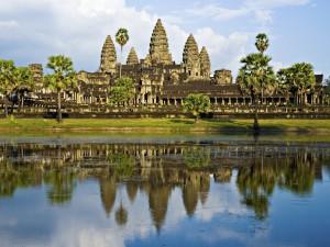 Postal: El gran templo Angkor Wat