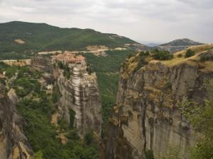 Uno de los monasterios de Meteora (Grecia)