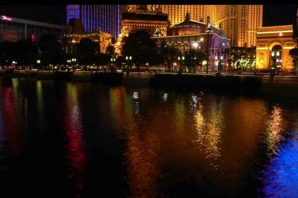 Estanque en Las Vegas