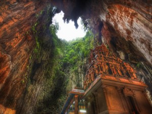 Postal: Cuevas de Batu