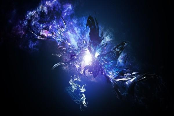 Explosión azul