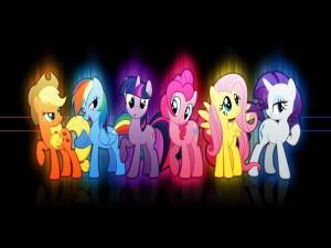 Postal: Mi pequeño Pony