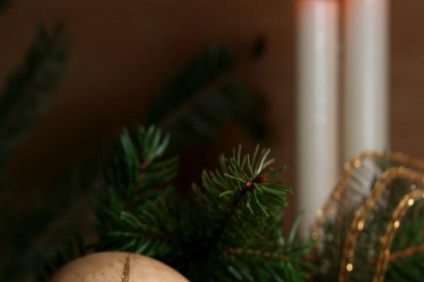 Algunos adornos navideños