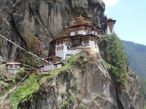 Postal: El espectacular templo de Taktshang
