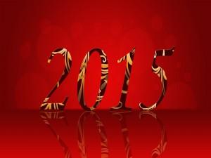 Postal: Un original Año Nuevo 2015