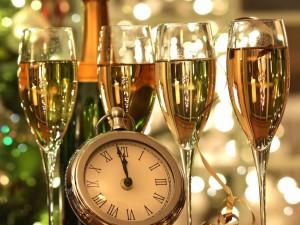 Postal: Pocos minutos para celebrar el Año Nuevo 2015