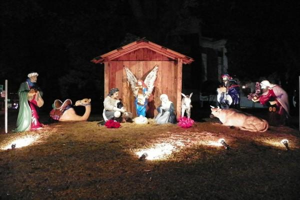 Escena de la Natividad del Señor
