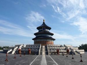 Postal: Salón de la Oración por la Buena Cosecha en el Templo del Cielo (China)