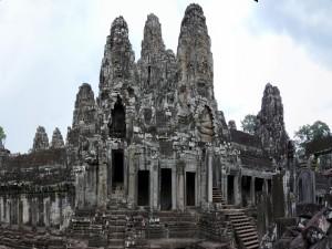 Postal: Ruinas del templo Angkor Wat