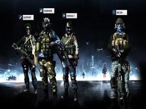 Soldados de Battlefield 3