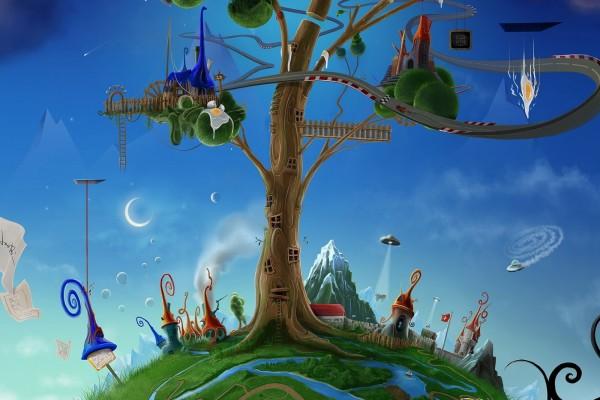 Una tierra de fantasía