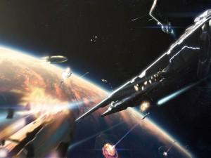 Batalla espacial