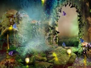 Postal: El bosque encantado