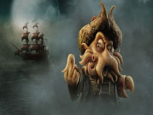 Davy Jones, un pirata del Caribe