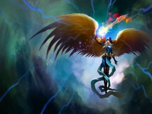 "Kayle la justiciera ""League of Legends"""