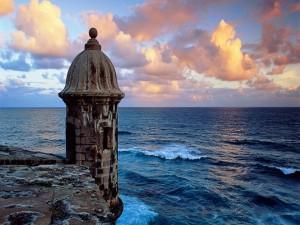 Admirando el mar