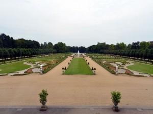 Postal: Jardines en el palacio de Charlottenburg (Alemania)