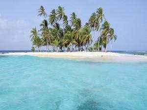 Fuerte viento en la isla