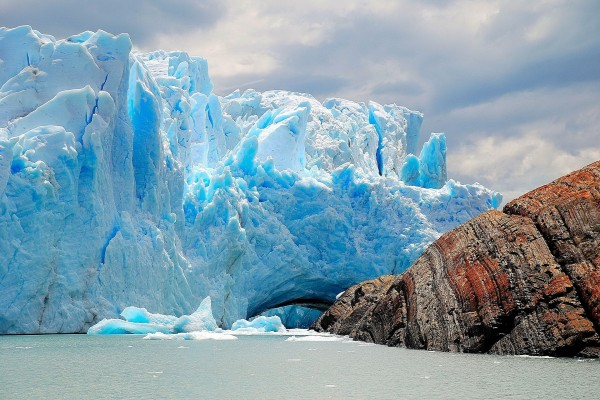 Vista del glaciar Perito Moreno (Argentina)