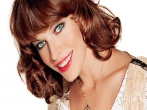 Postal: La actriz Milla Jovovich