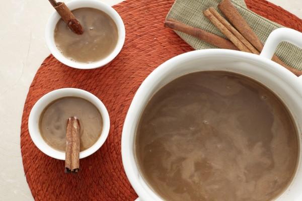 Chocolate aromatizado con canela