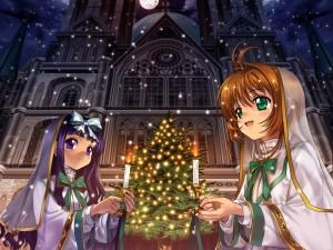 Navidad con Sakura y Tomoyo