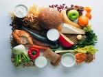 Alimentos variados para una dieta saludable