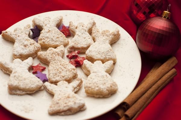 Galletas de angelitos para festejar la Navidad