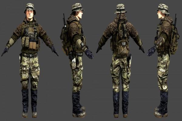 Molina, Marine de Battlefield 4