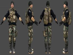 Postal: Modelo militar para Battlefield 4