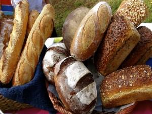 Postal: Unas deliciosas barras de pan
