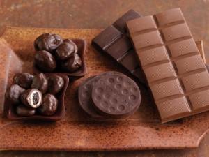 Un surtido de chocolates