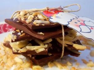 Postal: Chocolate para Navidad